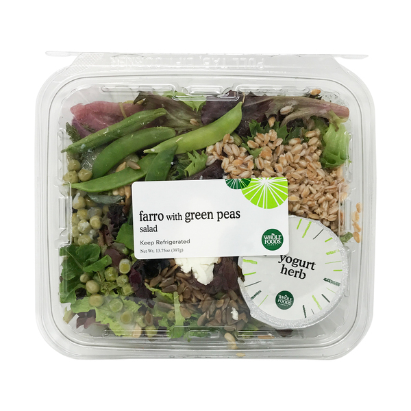 Whole foods market™ Farro With Green Pea Salad, 13.75 oz