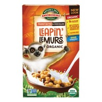 Nature's Path Organic Peanut Butter & Chocolate Leapin' Lemurs Breakfast Cereal - 10oz