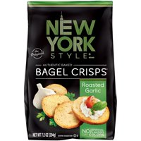 New York Style™ Bagel Crisps® Roasted Garlic Bagel Chips 7.2 oz. Stand-Up Bag