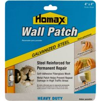 Homax Wall Patch Heavy-Duty Galvanized Steel, 4