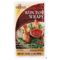 World Variety Produce Melissas  Won Ton Wraps, 60 ea