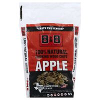 B&B 100% Natural Barbecue Apple Smoking Wood Chips