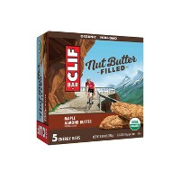 CLIF Bar Maple Almond Butter Filled Energy Bars – 8.8oz/5ct