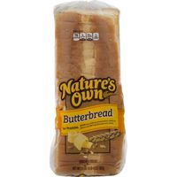 Nature's Own Butter Bread, 2 x 20 oz