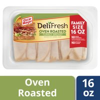 Oscar Mayer Deli Fresh Oven Roasted Sliced Turkey Breast Lunch Meat, 16 oz Package