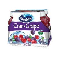 Ocean Spray Cran-Grape Juice Drink - 6pk/10 fl oz Bottles