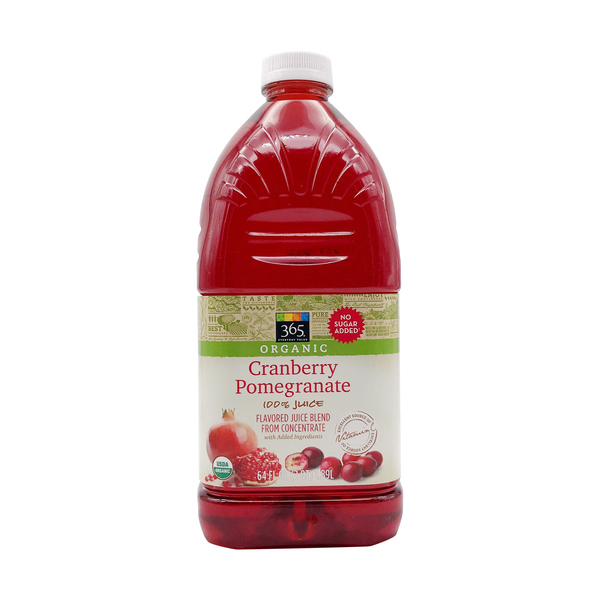 365 everyday value® Organic Cranberry Pomegranate Juice, 64 fl oz