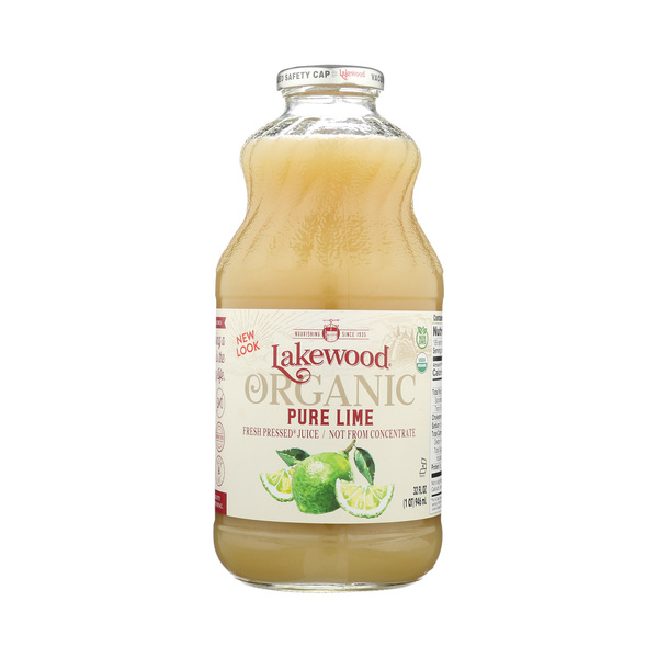 Lakewood PURE Lime Organic, 32 fl oz