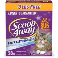 Scoop Away Clumping Cat Litter, Clean Breeze Scent, 28 Pounds