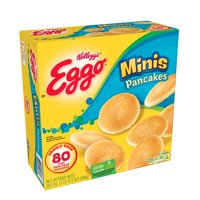 Kellogg's Eggo Frozen Mini Pancakes Easy Breakfast 28.2 oz 80 ct