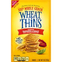 Wheat Thins Nabisco  Sundried Tomato & Basil