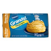 Pillsbury Grands! Honey Butter Flaky Layers Biscuits, 8 Ct, 16.3 oz