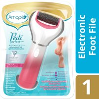 Amope Pedi Perfect Advanced Electric Foot File for Callus Removal and Foot Care, Regular Coarse