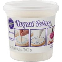Wilton Royal Icing, White, 14oz