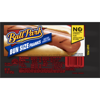 Ball Park® Classic Hot Dogs, Bun Size Length, 8 Count