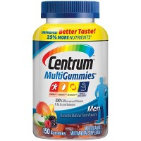 Centrum MultiGummies Men's Multivitamin & Multimineral Gummies - Cherry, Berry & Apple - 150ct