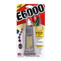 Eclectic E6000 1 Ounce Jewelry & Bead Glue, 1 Each