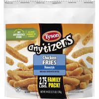 Tyson Any'tizers Homestyle Chicken Fries, 44 oz. Family Pack (Frozen)