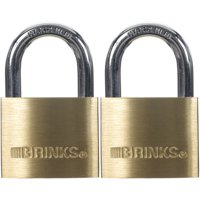 Brink's 40mm Solid Brass Padlock, 7/8