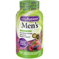 VitaFusion Men's Complete Multivitamins Gummy Berry Flavors - 150 CT