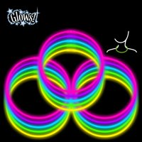 """Way To Celebrate! Glow 22"""" Necklaces Value Pack, 50ct, Multi Colors"""