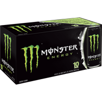 Monster Original Energy Drink, 16 Fl. Oz., 10 Count