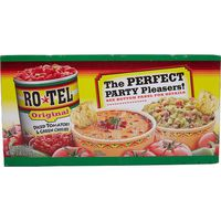 Ro-Tel Diced Tomatoes and Green Chilies's, 8 x 10 oz