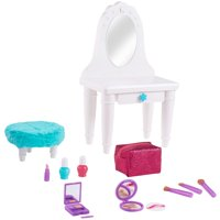 "My life as 13-piece vanity table play set, for 18"" dolls"