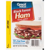 Great Value 97% Fat-Free Black Forest Ham, 32 Oz.