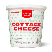 1% Milkfat Small Curd Cottage Cheese - 24oz - Market Pantry™