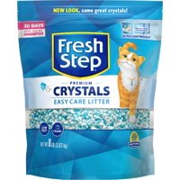 Fresh Step Crystals, Premium Cat Litter, Scented (Multiple Sizes)
