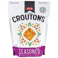 H-e-b Premium Seasoned Croutons