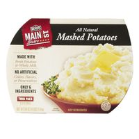 Main St. Bistro All Natural Mashed Potatoes, 2 x 32 oz