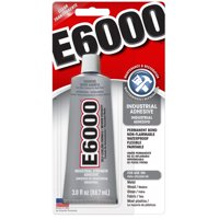 Eclectic E6000 Industrial Adhesive 3 fl oz, Clear or Transparent