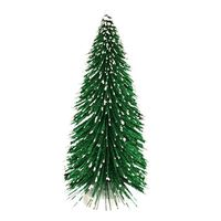 "Holiday Home 10.5"" Green Bottle Brush Tree"