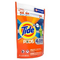 Tide Pods Laundry Detergent Pacs with Febreze Sport Odor Defense Active Fresh - 32ct
