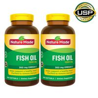 Nature Made Fish Oil 1200 mg Softgels, 400 ct