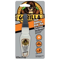 Gorilla Clear Glue Pen, 0.75 oz.