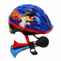 Ryans World Red Titan Bike Helmet, Triple Horn (Ages 5+)