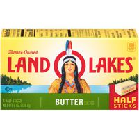 Land O' Lakes Salted Butter in Half Stick
