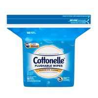 Cottonelle Flushable Wet Wipes