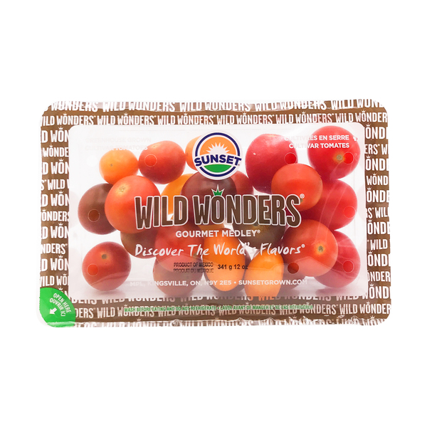 Sunset Wild Wonders Gourmet Medley Tomatoes, 12 oz