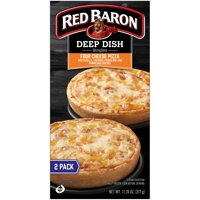Red Baron® Singles Deep Dish Four Cheese Pizzas, 11.20 oz, 2 Count