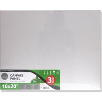 Daler-Rowney Simply 16' x 20 Canvas Panels Pack, 3 Piece