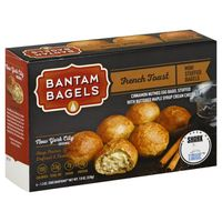 Bantam Bagels Bagels, Stuffed, French Toast, Mini