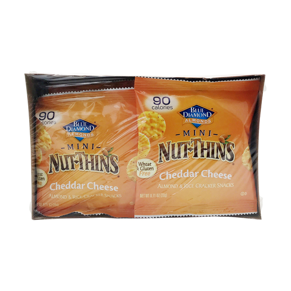 Cheddar Cheese Mini Nut Thins, 0.71 oz