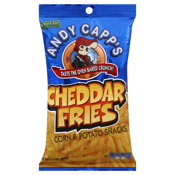 ConAgra Foods Andy Capps Cheddar Fries, 3 oz