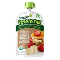Sprout Power Pak  Strawberry with Superblend Banana & Butternut Squash