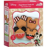 Disney Eats Gingerbread Cookie Kit - 14oz