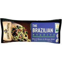 Sweet Earth Black Beans & Brown Rice Frozen Brazilian Burrito - 6.0oz